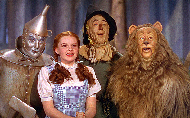The Wizard of Oz (1939) PG, 102 mins., directed by Victor Fleming, starring Judy Garland, Ray Bolger, Margaret Hamilton