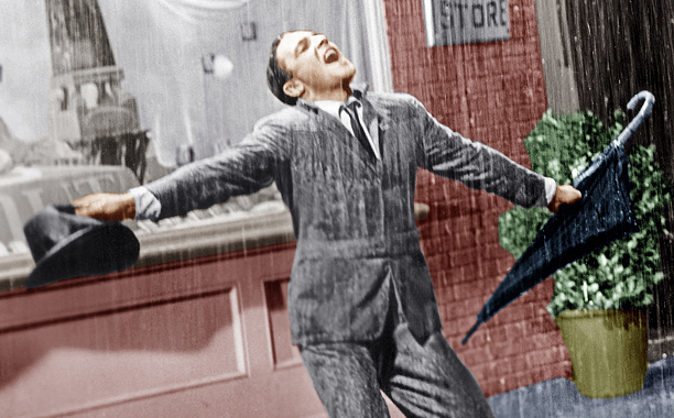 Singin' in the Rain (1952) G, 103 mins., directed by Stanley Donen and Gene Kelly, starring Gene Kelly, Donald O'Connor, Debbie Reynolds