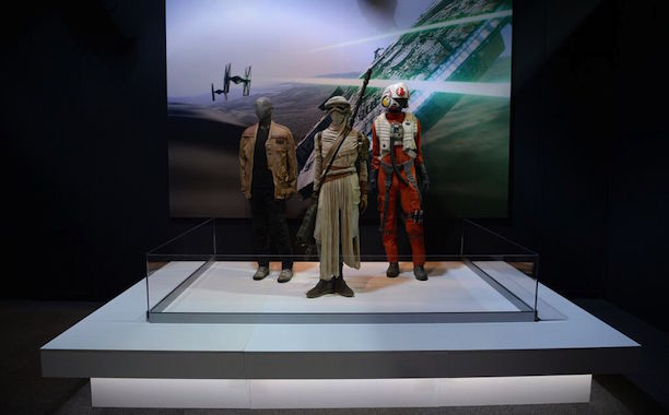 Rey, Finn, Resistance X-Wing Fighter Pilot: Star Wars: The Force Awakens