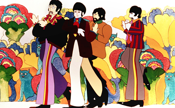 Yellow Submarine (1968) G, 85 mins., directed by George Dunning, starring the Beatles