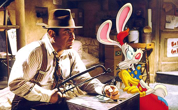 Who Framed Roger Rabbit (1988) PG, 104 mins., directed by Robert Zemeckis, starring Bob Hoskins, Christopher Lloyd, Kathleen Turner