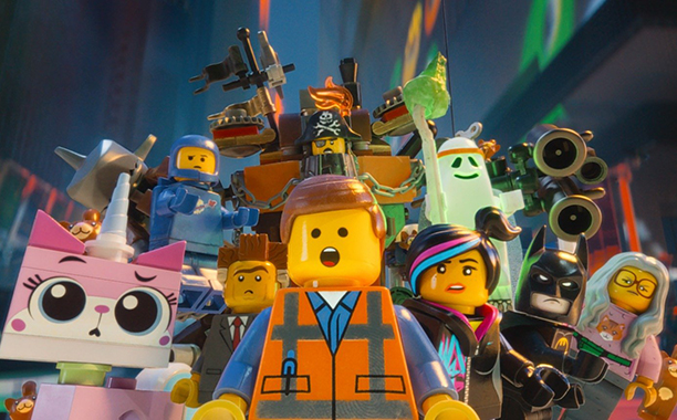 The LEGO Movie (2014) PG, 100 mins., directed by Phil Lord and Chris Miller, starring Will Ferrell and the voices of Chris Pratt, Elizabeth Banks, Will Arnett