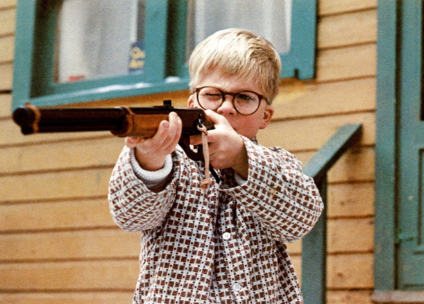A Christmas Story (1983) PG, 94 mins., directed by Bob Clark, starring Peter Billingsley, Melinda Dillon, and Darren McGavin