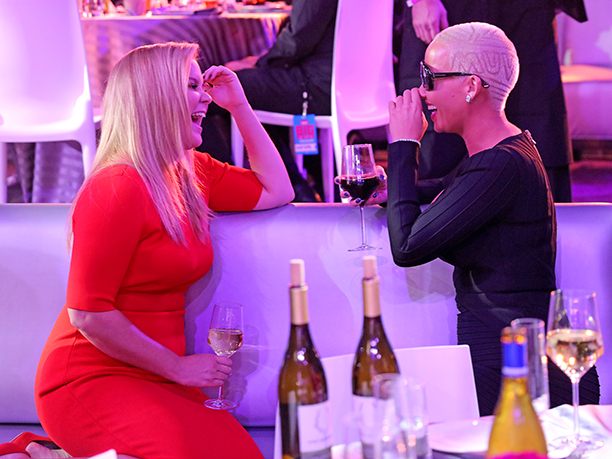 Amy Schumer and Amber Rose