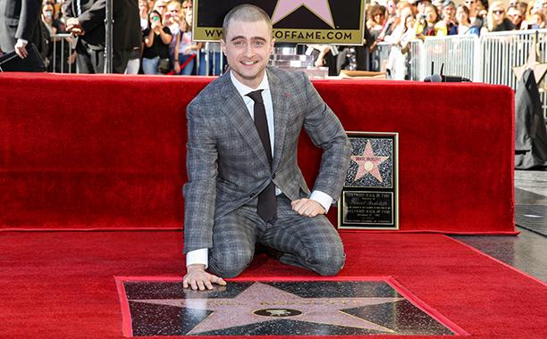Daniel Radcliffe receives star on Hollywood Walk of Fame