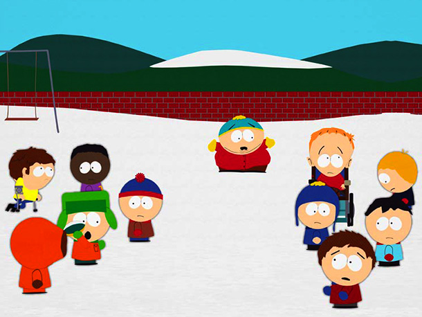 South Park | ? Season 9, episode 6 In ''The Death,'' Stan, Kyle, and Kenny ignore Cartman, leading him to believe that he is dead and that the…