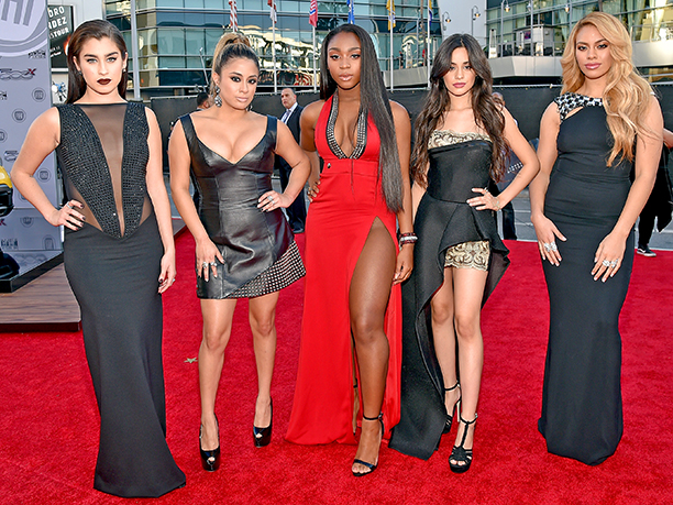 Lauren Jauregui, Ally Brooke, Normani Hamilton, Camila Cabello, and Dinah-Jane Hansen of Fifth Harmony