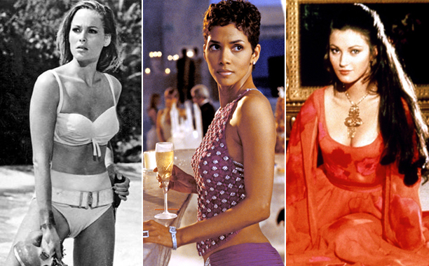 Ursula Andress, Halle Berry, Jane Seymour