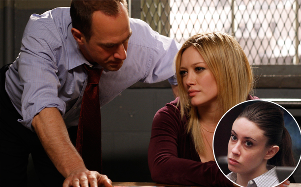 """SVU Season 10, Episode 19 """"Selfish"""" (April 28, 2009) Inspired by: The trial of Casey Anthony"""