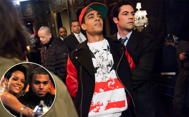 """SVU Season 14, Episode 16 """"Funny Valentine"""" (Feb. 27, 2013) Inspired by: Chris Brown domestic violence incident with Rihanna"""