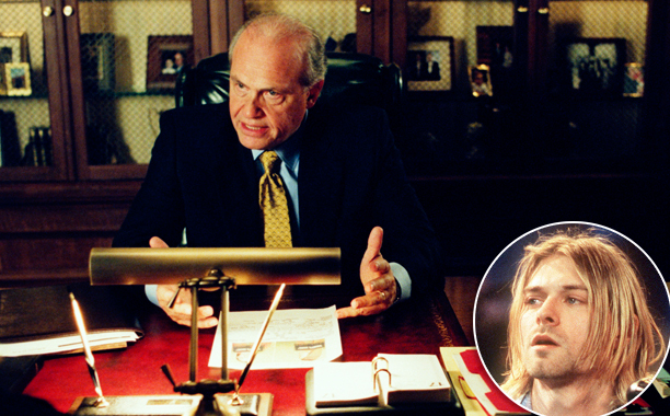 """Law & Order Season 13, Episode 3 """"True Crime"""" (Oct. 16, 2002) Inspired by: The death of Kurt Cobain"""