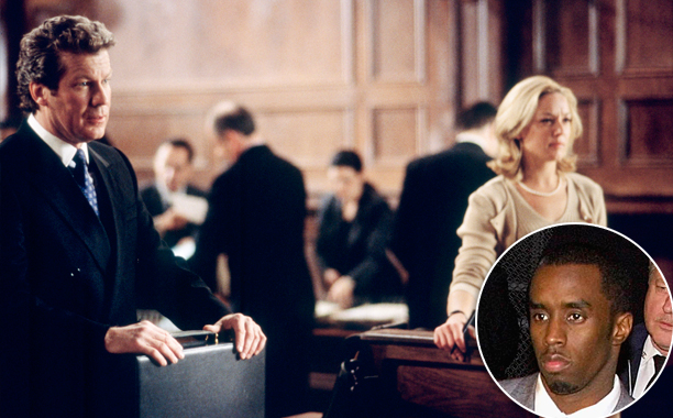 """Law & Order Season 12, Episode 9 """"3 Dawg Night"""" (Nov. 28, 2001) Inspired by: P. Diddy's involvement in an investigation relating to a shooting"""