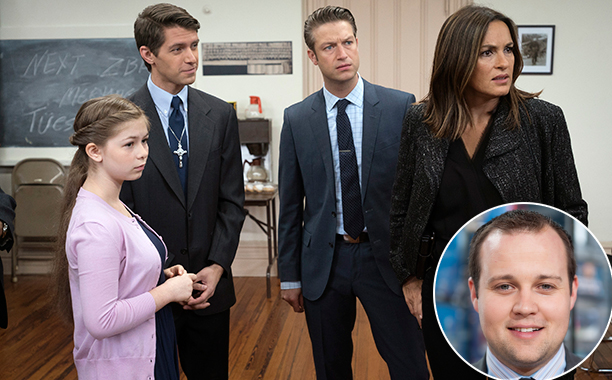 "SVU Season 17, Episode 7 ""Patrimonial Burden"" (Nov. 4, 2015) Inspired by: Josh Duggar's molestation scandal"