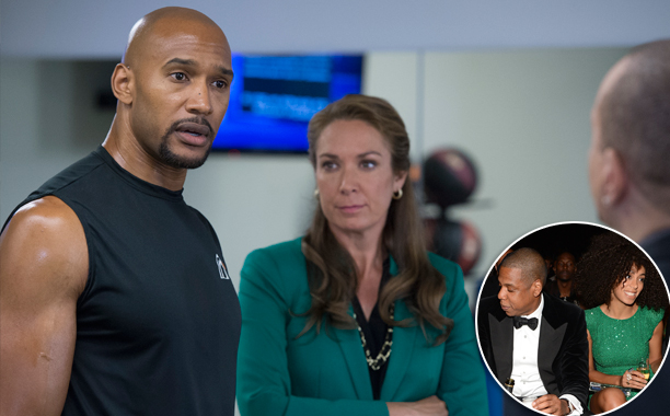 """SVU Season 16, Episode 2 """"American Disgrace"""" (Oct. 1, 2014) Inspired by: Jay Z and Solange's elevator fight"""