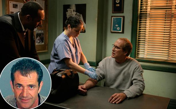 "Law & Order Season 17, Episode 7 ""In Vino Veritas"" (Nov. 3, 2006) Inspired by: Mel Gibson's mid-2000s breakdown"