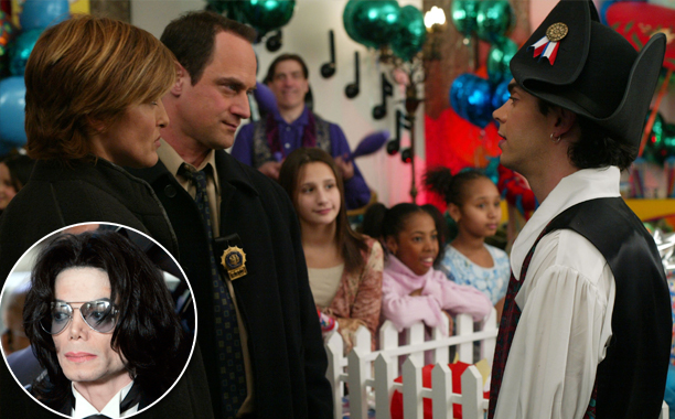 """SVU Season 5, Episode 19 """"Sick"""" (March 30, 2004) Inspired by: Michael Jackson's child abuse allegations"""