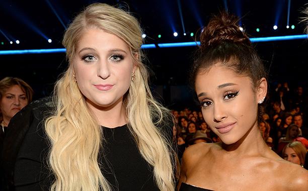 Meghan Trainor and Ariana Grande