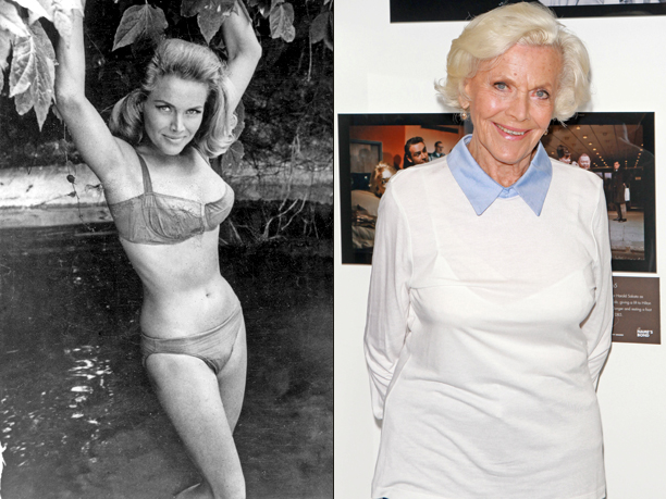 Honor Blackman (Pussy Galore, Goldfinger)