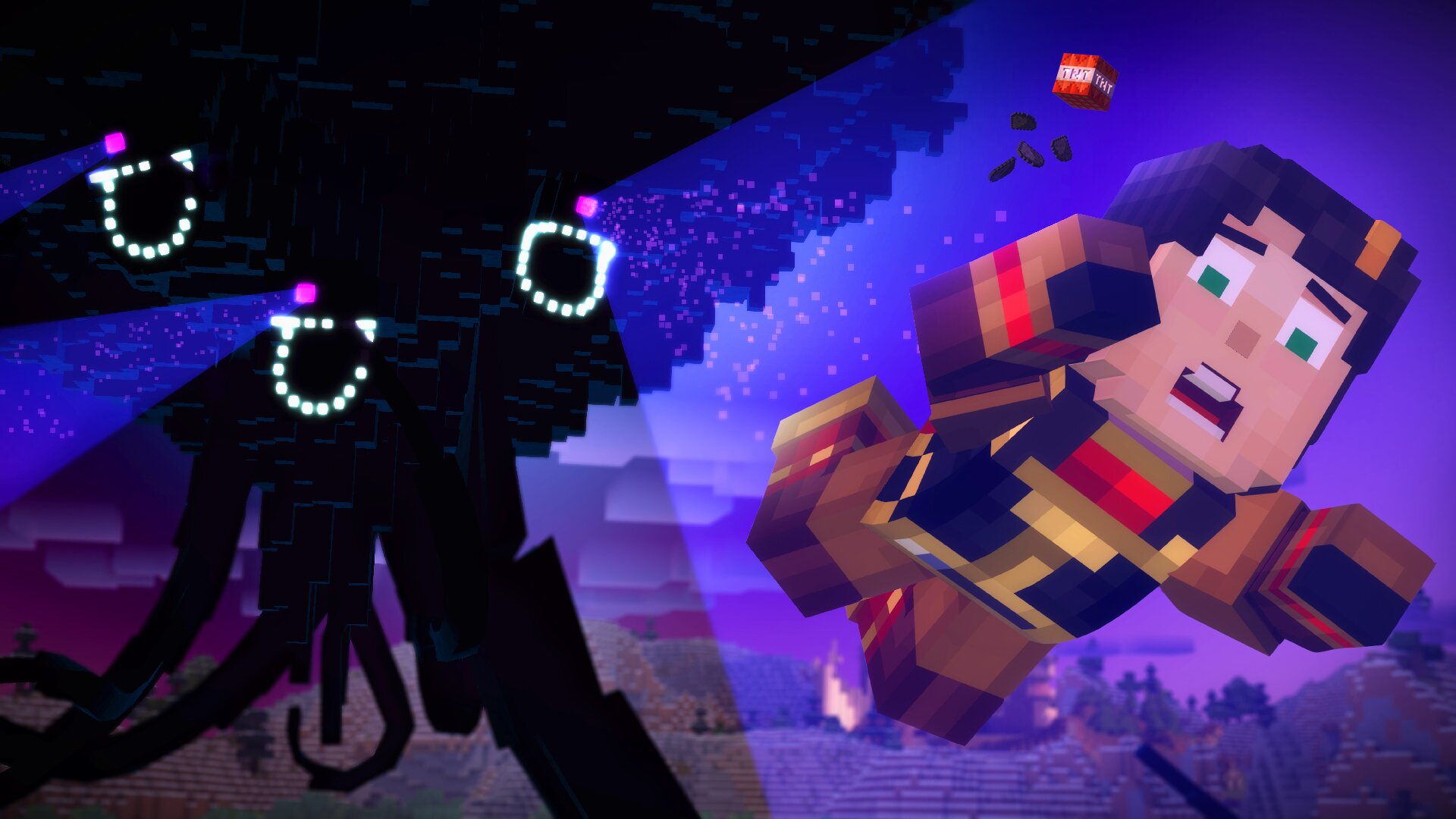 Minecraft Story Mode Episode 3 Review Ew Com