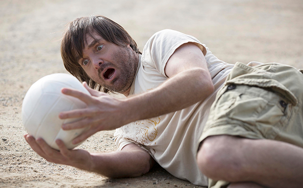 Volleyball as Gary, Last Man on Earth