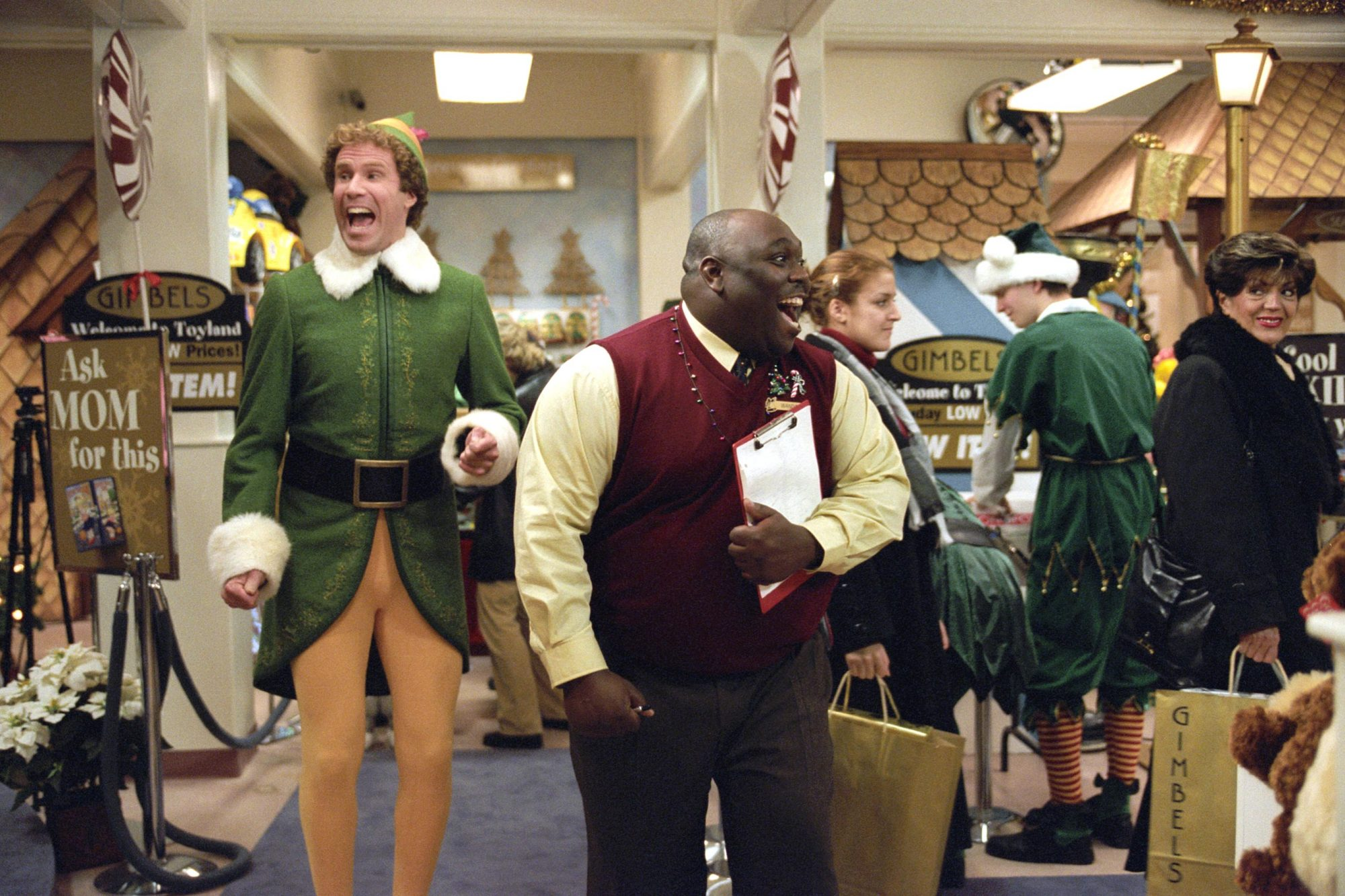 ELF, Will Ferrell, Faizon Love, 2003, (c) New Line/courtesy Everett Collection