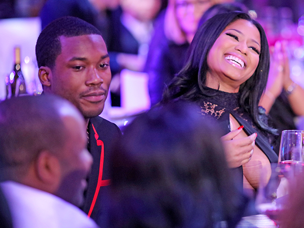 Meek Mill and Nicki Minaj