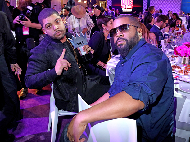 O'Shea Jackson Jr. and Ice Cube