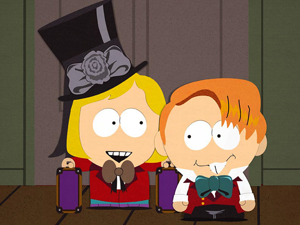 South Park | Season 4, episode 5 Charles Dickens' classic novel Great Expectations gets the South Park parody treatment as Parker and Stone relate the ?origin story of…