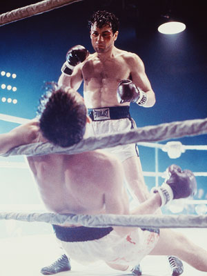 Raging Bull, Robert De Niro | Robert DeNiro ( Raging Bull , 1980) De Niro spent more than a year training to play rugged middleweight Jake LaMotta by sparring with the…