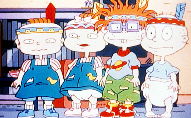 The Rugrats are all figments of Angelica's imagination