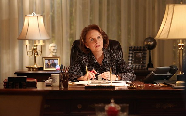 Kate Burton as Sally Langston, Scandal
