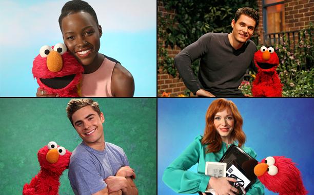 Lupita Nyong'o, John Mayer, Zac Efron, and Christina Hendricks on 'Sesame Street'