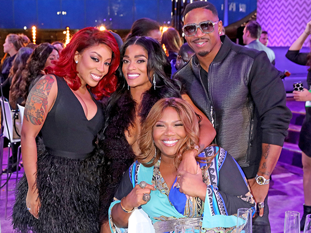 K. Michelle, Joseline Hernandez, Stevie J., and Mona Scott Young
