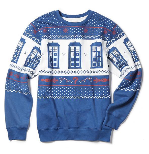 TARDIS sweatshirt