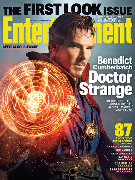 EW's Doctor Strange Cover