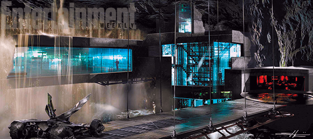 Concept art for the Bat Cave from Batman v Superman: Dawn of Justice (March 25)
