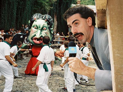 Borat: Cultural Learnings of America for Make Benefit Glorious Nation of Kazakhstan, Sacha Baron Cohen | Sacha Baron Cohen has made a career of hitching his low humor to lofty aims, and his wildly popular Kazakh journalist is no exception. The…