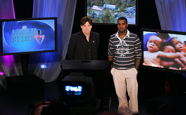 Mike Myers and Kanye West