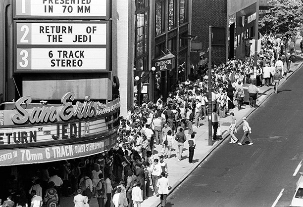 May 23, 1983: Philadelphia's Boyd Theatre played host to hundreds of Star Wars fans who lined up ahead of Return of the Jedi