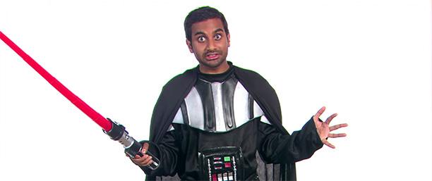 Aziz Ansari as Darth Vader