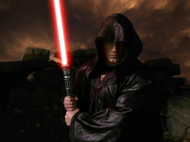 Henry Cavill as Superman as a Jedi