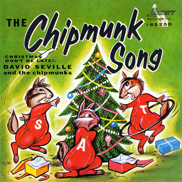 "15. ""The Chipmunk Song,"" The Chipmunks (1958)"