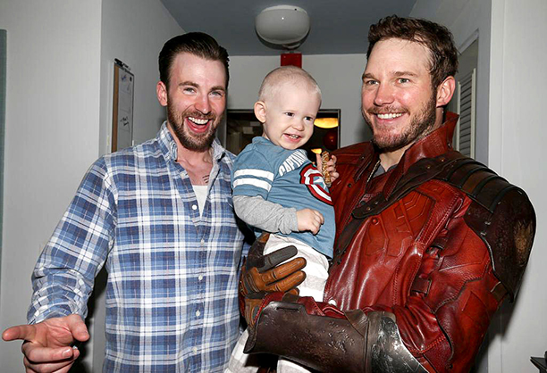 When He Made Good On His Super Bowl Bet With Chris Evans