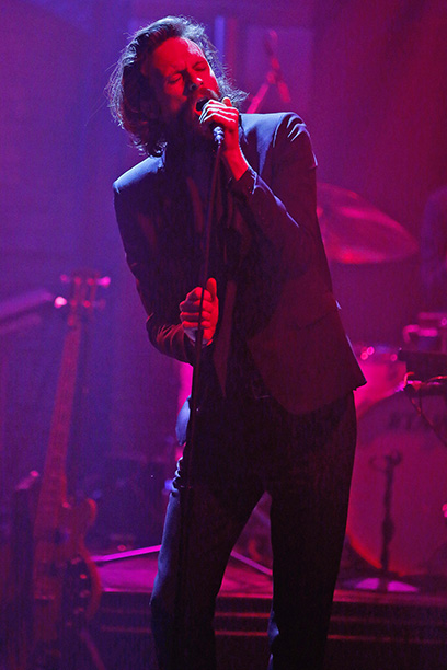 Father John Misty on the Late Show