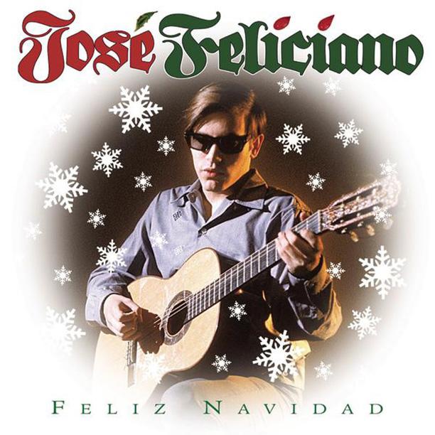 """4. """"Feliz Navidad,"""" by José Feliciano (1970)"""