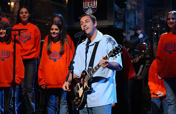 "8. ""The Hanukkah Song,"" by Adam Sandler (1994)"