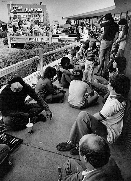 May 22, 1980: Moviegoers line up for a screening of The Empire Strikes Back