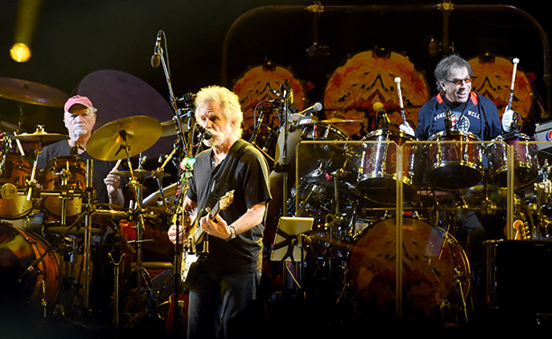The Grateful Dead on their Fare Thee Well Tour