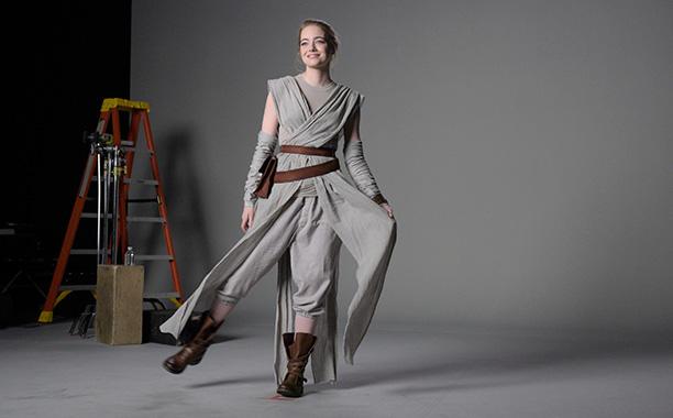 Emma Stone as Rey