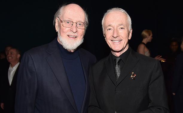 John Williams and Anthony Daniels